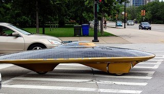 cars powered by solar energy