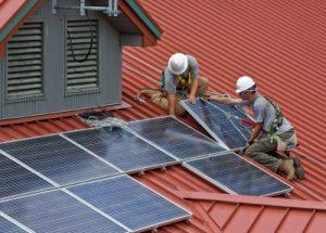 solar panel construction