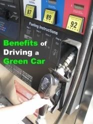 green or eco-friendly car