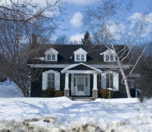 cut energy costs in your winter home